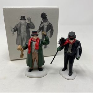 Department 56 Town Crier & Chimney Sweep